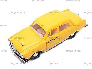 Инерционная машина Волга 2100 «Такси», 35004, игрушки