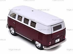 Инерционная машина Volkswagen Classical Bus 1962, KT5060W, купить
