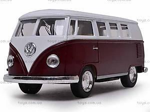Инерционная машина Volkswagen Classical Bus 1962, KT5060W, отзывы