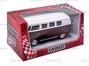 Инерционная машина Volkswagen Classical Bus 1962, KT5060W, цена