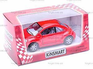 Инерционная машина Volkswagen New Beetle, KT5028W, купить