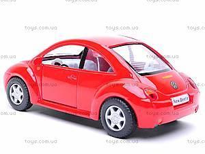 Инерционная машина Volkswagen New Beetle, KT5028W, фото