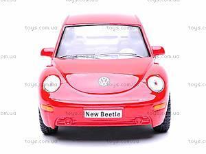 Инерционная машина Volkswagen New Beetle, KT5028W, отзывы
