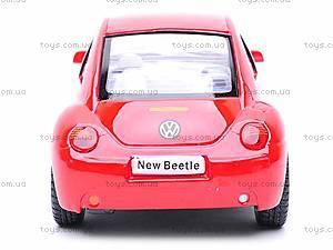 Инерционная машина Volkswagen New Beetle, KT5028W, цена