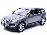 Инерционная машина Volkswagen Touareg 2003, KT5078W, магазин игрушек