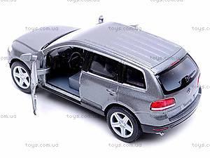 Инерционная машина Volkswagen Touareg 2003, KT5078W, игрушки