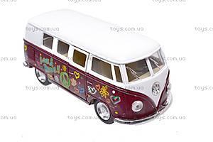 Инерционная машина VW Classical Bus 1962, KT5060WF, купить