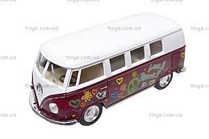 Инерционная машина VW Classical Bus 1962, KT5060WF, фото