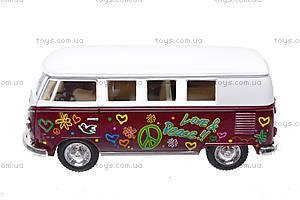 Инерционная машина VW Classical Bus 1962, KT5060WF, отзывы