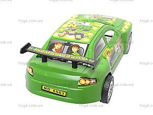 Инерционная машинка Ben10, 6663, игрушки