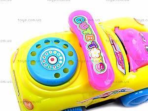 Инерционная машинка «Милашка», 6688-1, детские игрушки
