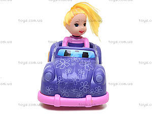 Инерционная машинка с девочкой, 279B-1, купить