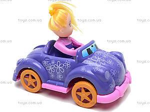 Инерционная машинка с девочкой, 279B-1, игрушки