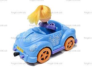 Инерционная машинка с девочкой, 279B-1, детские игрушки
