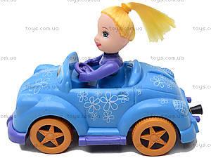 Инерционная машинка с девочкой, 279B-1, toys.com.ua