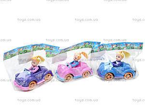 Инерционная машинка с девочкой, 279B-1, toys