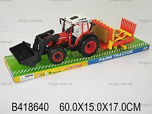 Инерционная машинка «Трактор», 4788