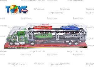 Инерционная машинка «Трейлер», 45630, игрушки