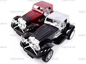Инерционная машинка в стиле ретро, 858, toys.com.ua