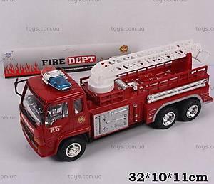 Инерционная пожарная машинка, 333-19