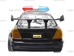 Инерционная полицейская машинка, 5938, купить