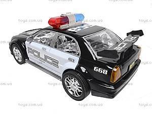 Инерционная полицейская машинка, 5938, цена