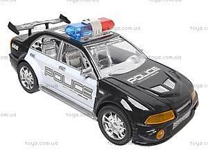 Инерционная полицейская машинка, 5938, магазин игрушек