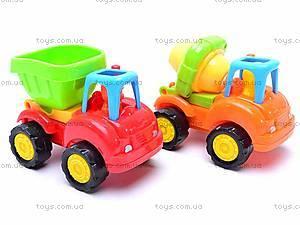 Машинки «Стройтехника», 5308A, игрушки
