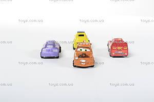 Инерционные машины «Тачки», 4 штуки, 399-9, цена