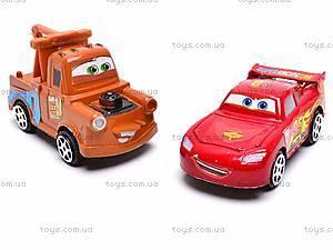 Инерционные модельки «Тачки», 399-3D12, игрушки