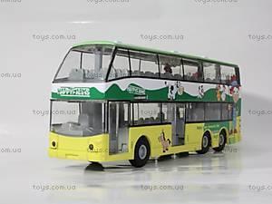 Инерционный 2-х этажный автобус, 837-A, купить