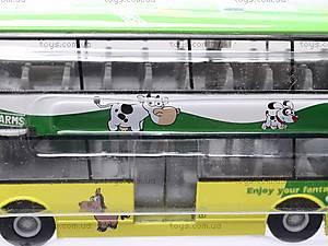 Инерционный 2-х этажный автобус, 837-A, отзывы