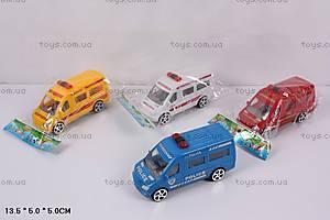 Инерционный автобус «Аварийная служба», A01-04, купить