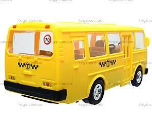 Инерционный автобус «Маршрутное такси», 32118, фото