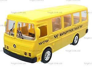 Инерционный автобус «Маршрутное такси», 32118, игрушки