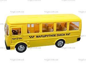 Инерционный автобус «Маршрутное такси», 32118, детские игрушки