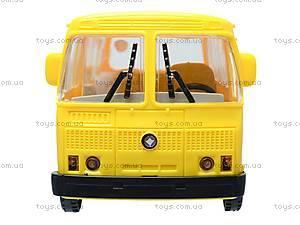 Инерционный автобус «Маршрутное такси», 32118, магазин игрушек
