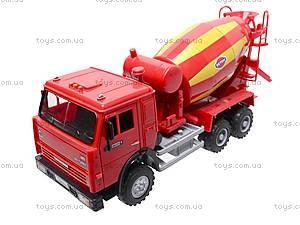 Инерционный бетоносмеситель, красный, синий, 9117B, игрушки
