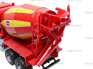 Инерционный бетоносмеситель, красный, синий, 9117B, магазин игрушек