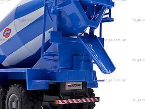 Инерционный бетоносмеситель, синий, 9117C, фото