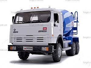 Инерционный бетоносмеситель, синий, 9117C, детские игрушки