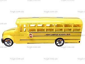 Инерционный детский автобус, CH526-1B, фото