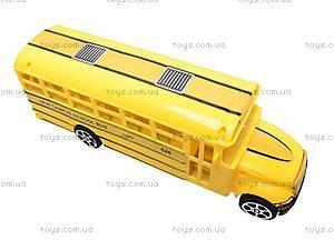 Инерционный детский автобус, CH526-1B, отзывы