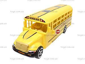Инерционный детский автобус, CH526-1B, детские игрушки