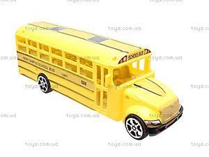 Инерционный детский автобус, CH526-1B, toys.com.ua