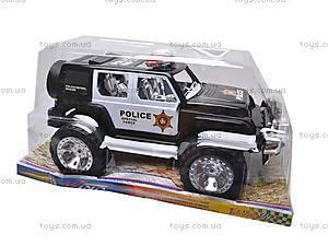 Инерционный детский джип «Полиция», 116, цена