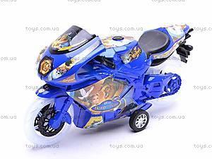 Инерционный детский музыкальный мотоцикл, 909-7, купить
