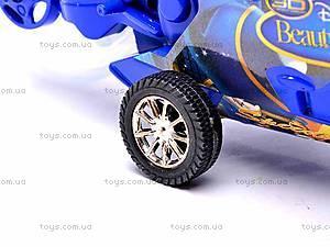 Инерционный детский музыкальный мотоцикл, 909-7, toys.com.ua