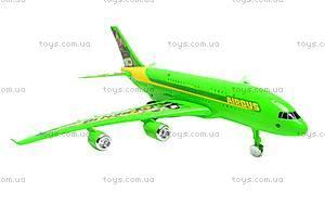 Инерционный детский самолет Ben10, 758-1