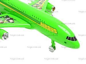 Инерционный детский самолет Ben10, 758-1, цена